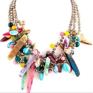 Artsy Everything Necklace,NWT